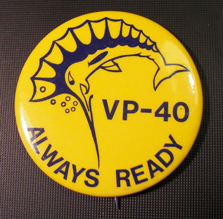 VP-40 Fighting Marlins button